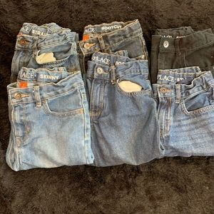 6 pairs of boys jeans